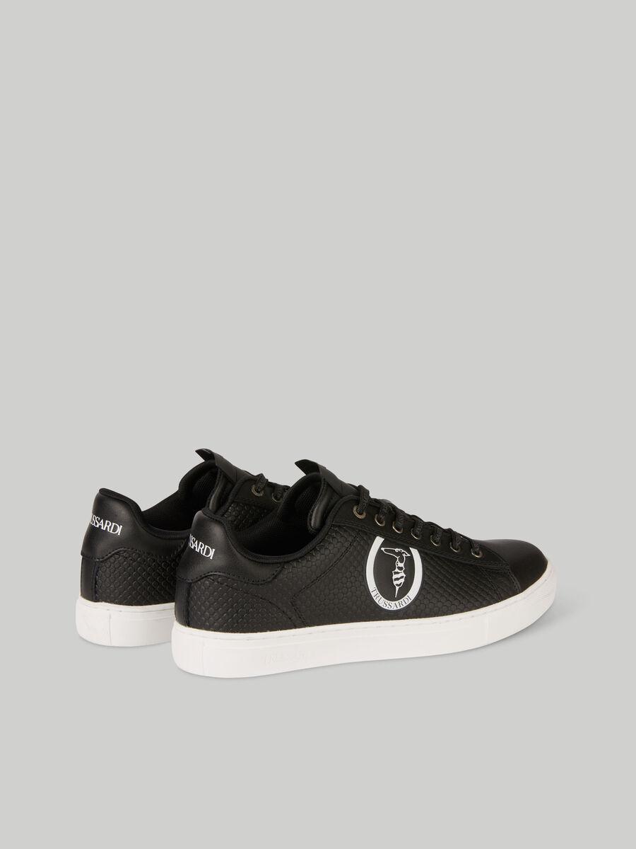 Leather Portofino sneakers