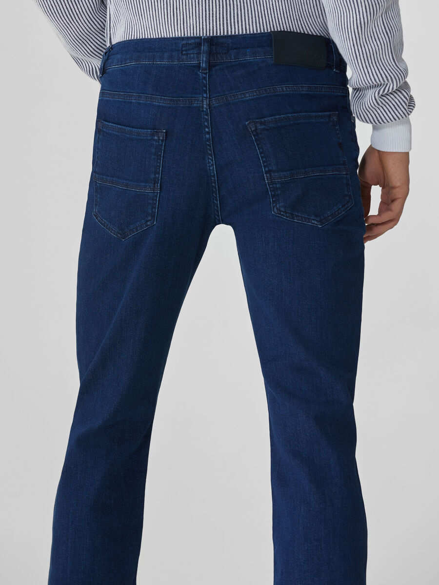 Icon 380 jeans in blue Cairo denim