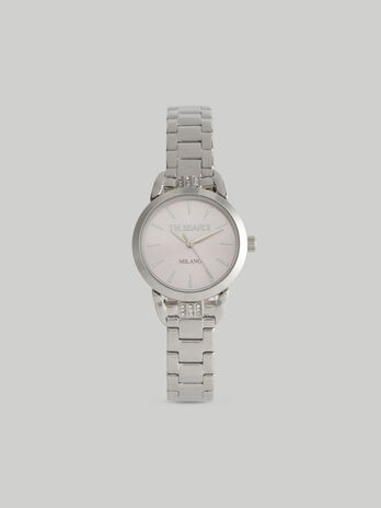 28-mm T-Original watch with steel strap