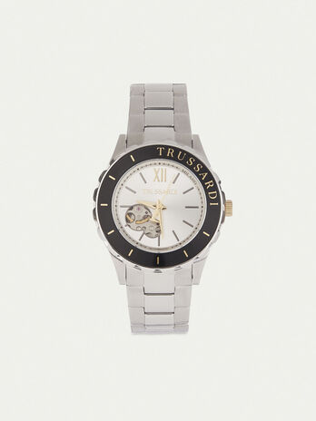 43 mm steel T-Logo watch