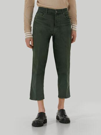 Old-washed denim Taper 360 jeans