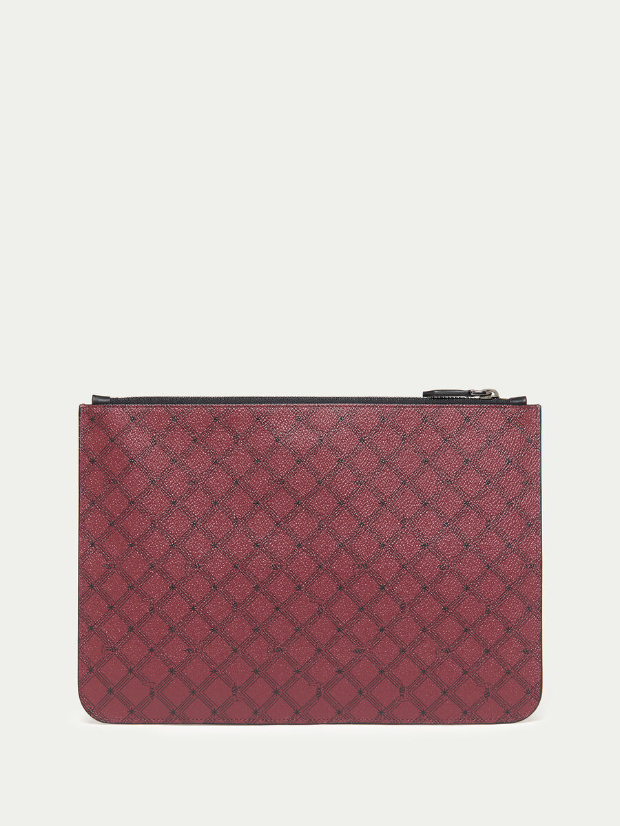 Crespo leather Envelope Monogram