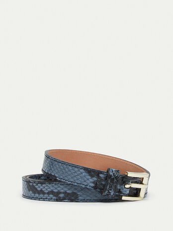 Python print Crespo leather belt