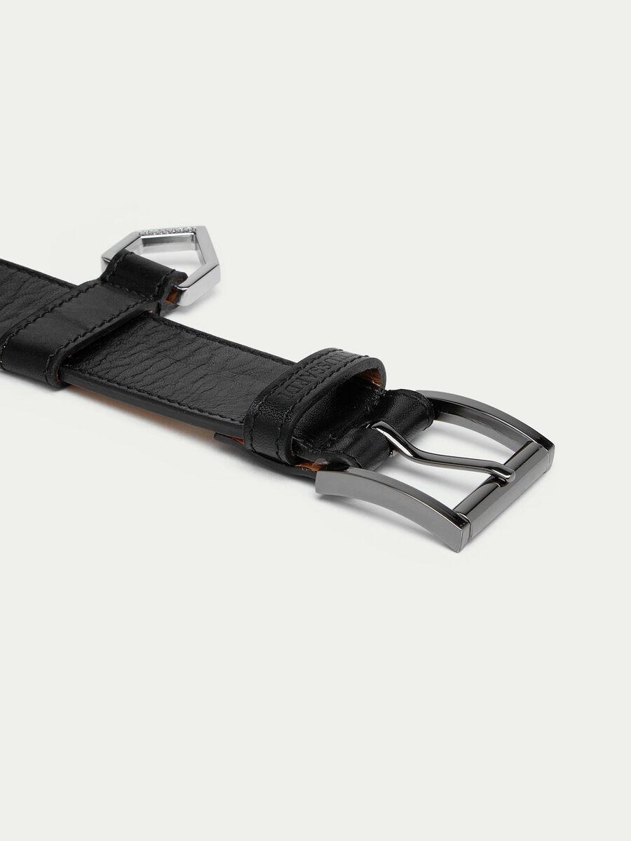 Cinturón de piel Tresor de Faeda
