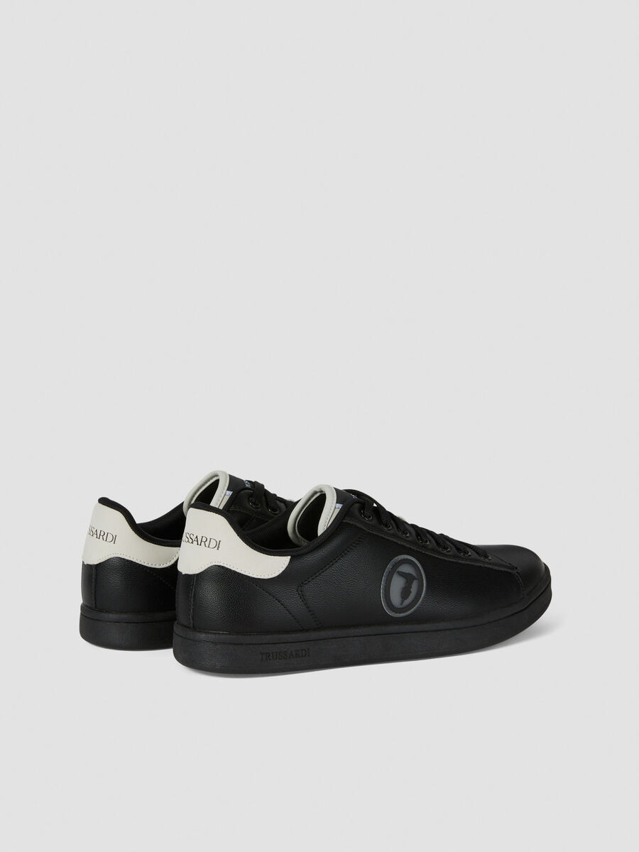 Sneakers with logo