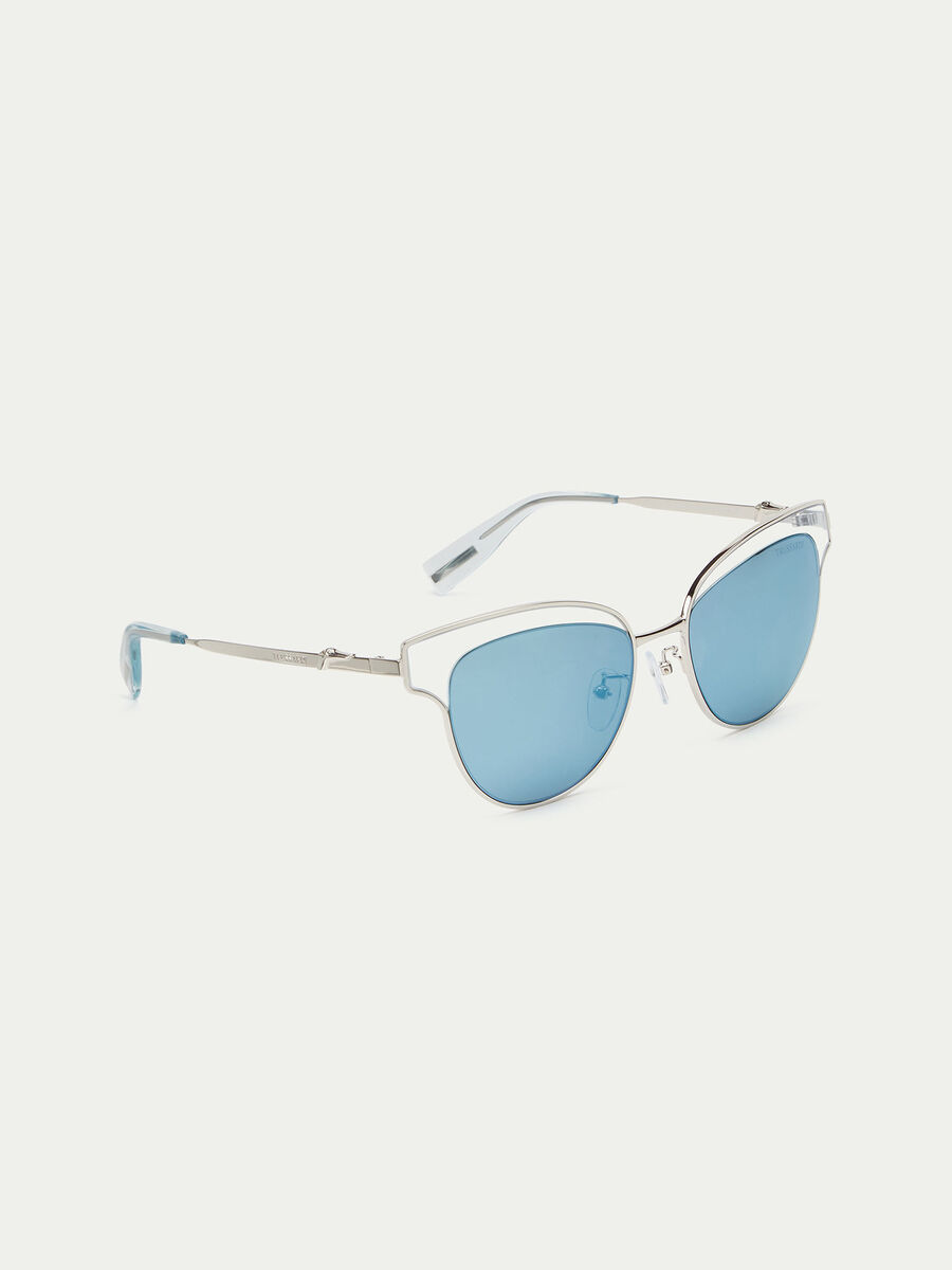 Gafas de sol aviador con bisagras caladas