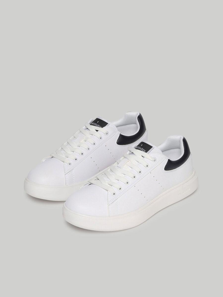 Sneakers Yrias en similicuir uni