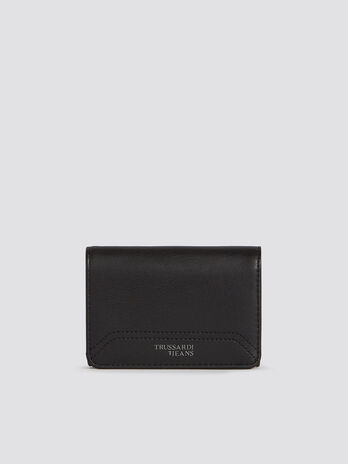 Medium bifold Business Affair wallet in faux leather