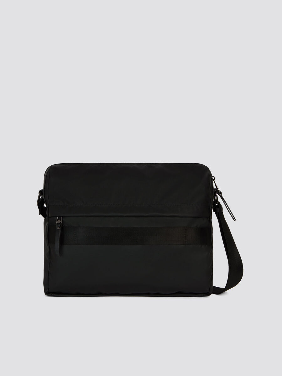 Large Turati messenger bag in nylon and Cordura