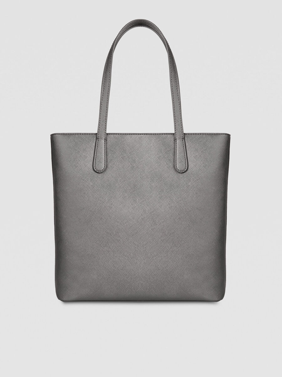 Medium saffiano Sophie shopper with logo