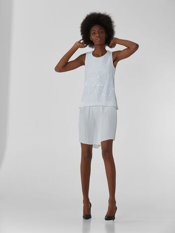 Minidress mit Pailletten