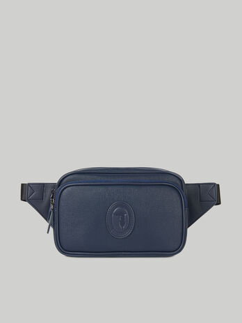 Medium Urban belt bag in faux saffiano leather