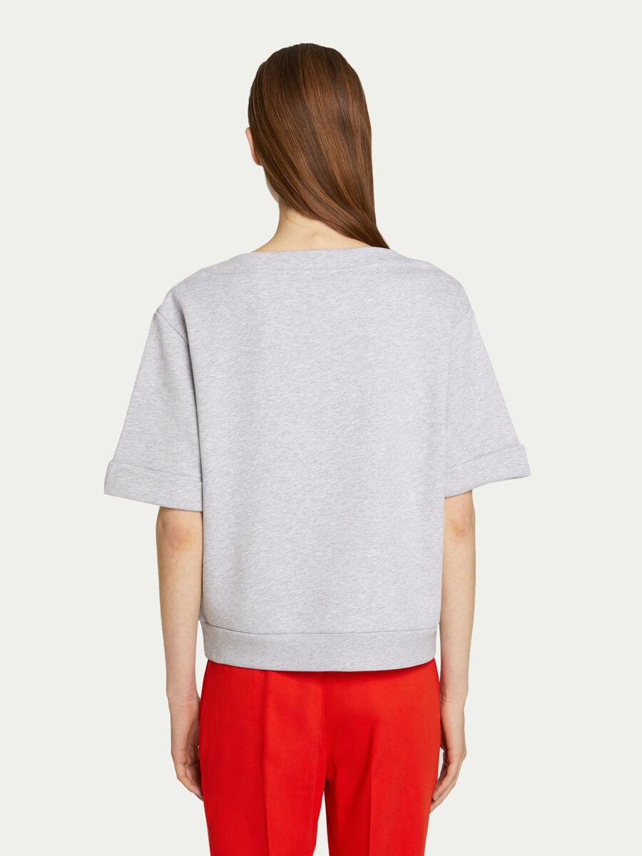 Sweatshirt aus Tech Fleece mit grossem Schriftzug