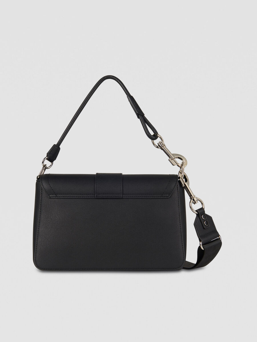 Large With Love City shoulder bag in faux leather