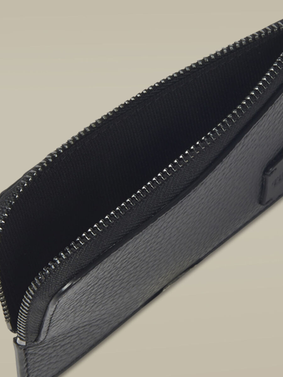 Large leather Business card holder