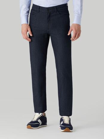 Icon 380 jeans in Fancy denim