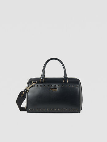 Medium T-Easy Shine trunk bag in faux leather