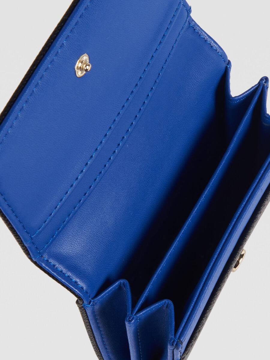 Medium T-Easy Light bifold wallet in faux leather