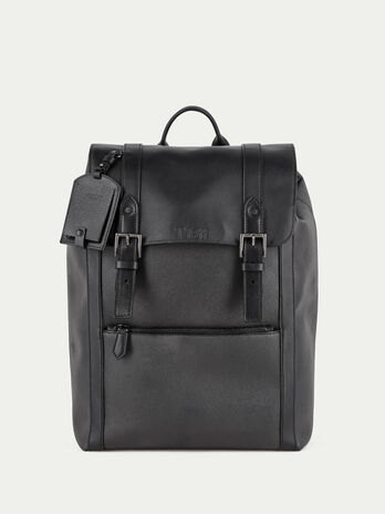 Large backpack in crespo leather