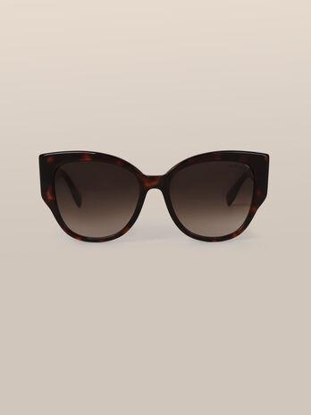 Gafas de sol efecto carey con galgo