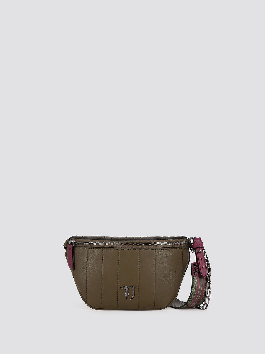 Quilted Curcuma belt bag