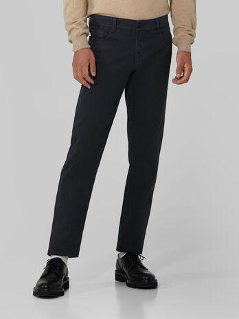 Houndstooth gabardine Close 370 trousers
