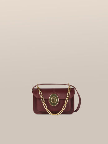Small Ottavia shoulder bag in abraded leather