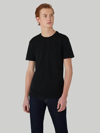 T-Shirt im Slim-Fit aus Baumwollstretch