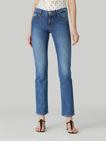 Jeans 130 Classic aus Pikee-Denim