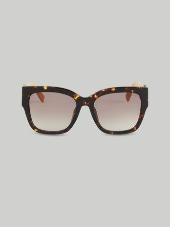 Oversize-Sonnenbrille aus Acetat