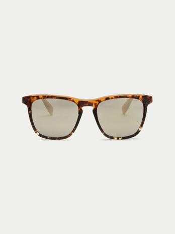 Gafas de sol con montura espesa efecto carey