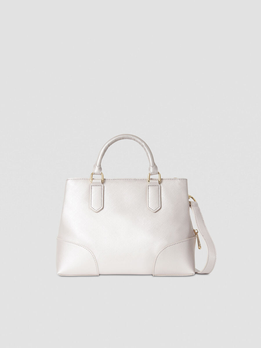 Tote bag Bella small in similpelle laminata