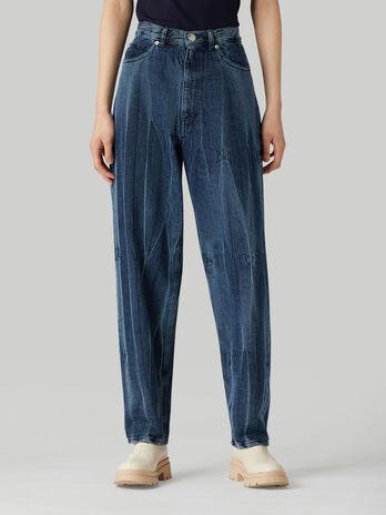 Jeans Jean 88 in denim Crushed