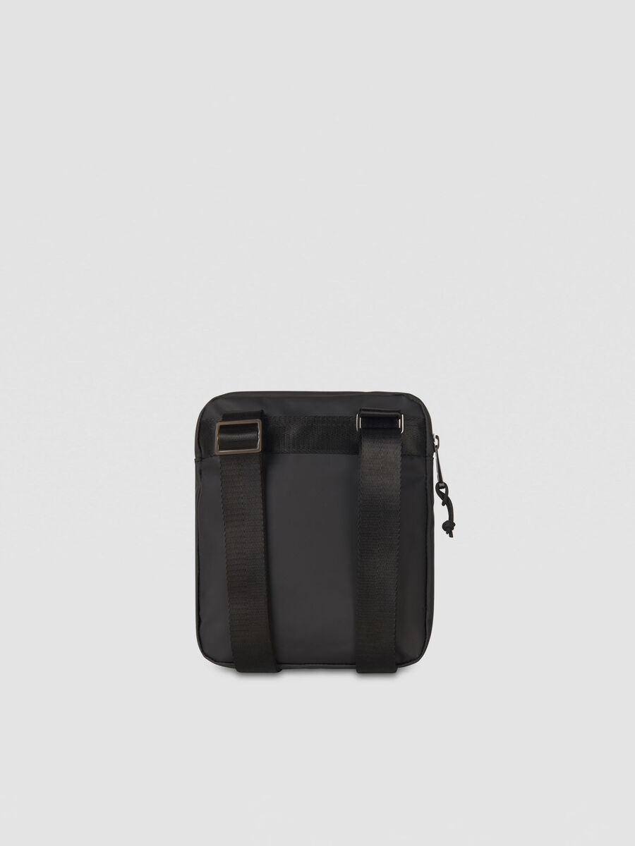 Cross-body T-Travel small in similpelle con logo