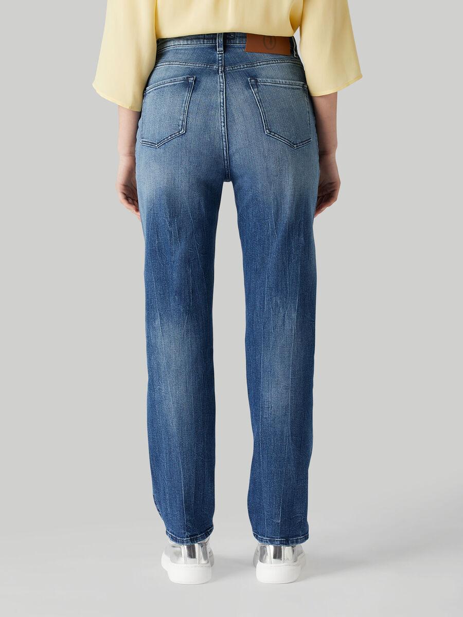 Jeans Tube in denim
