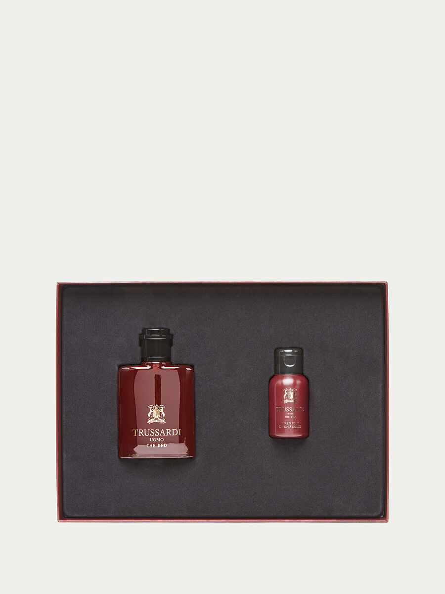 Coffret Trussardi Uomo The Red parfum et savon a barbe