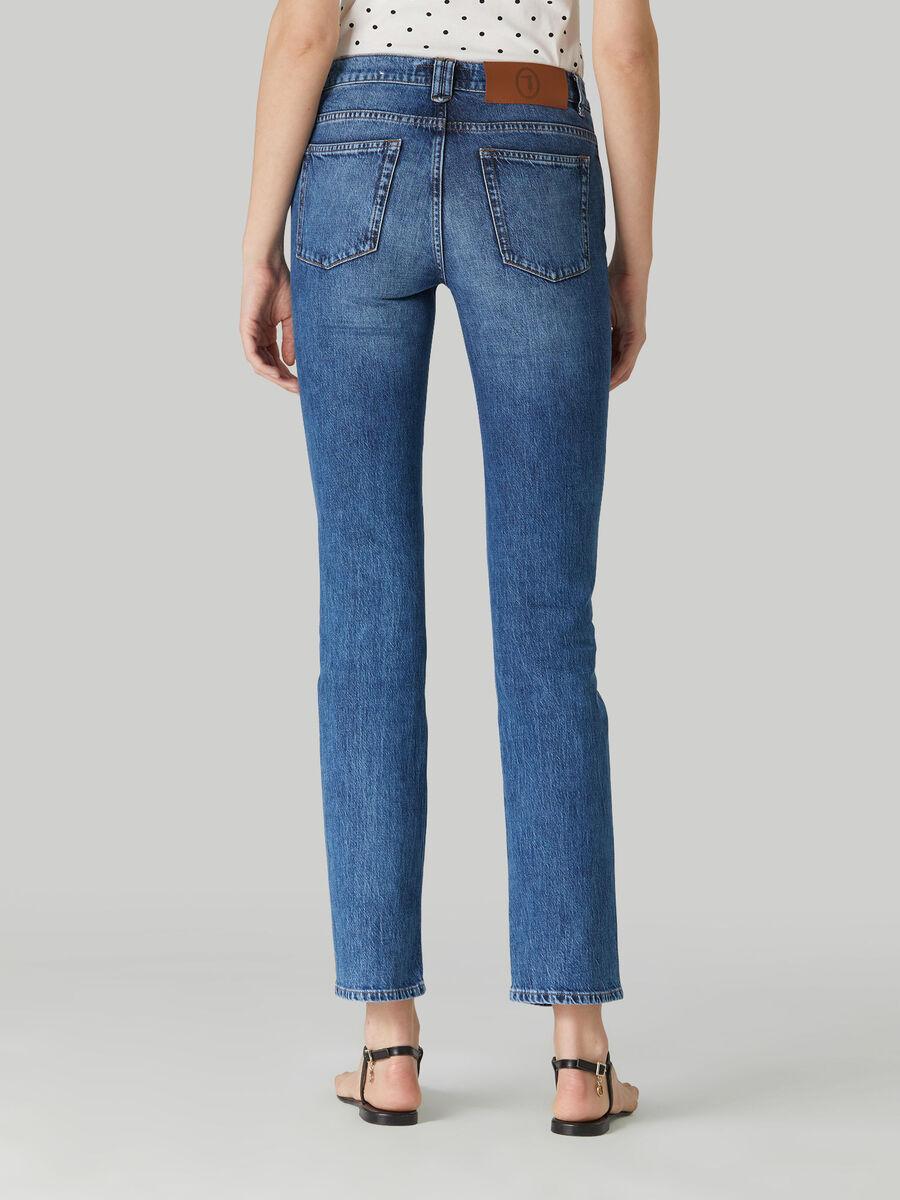 Jeans 130 Classic aus Pikee-Denim