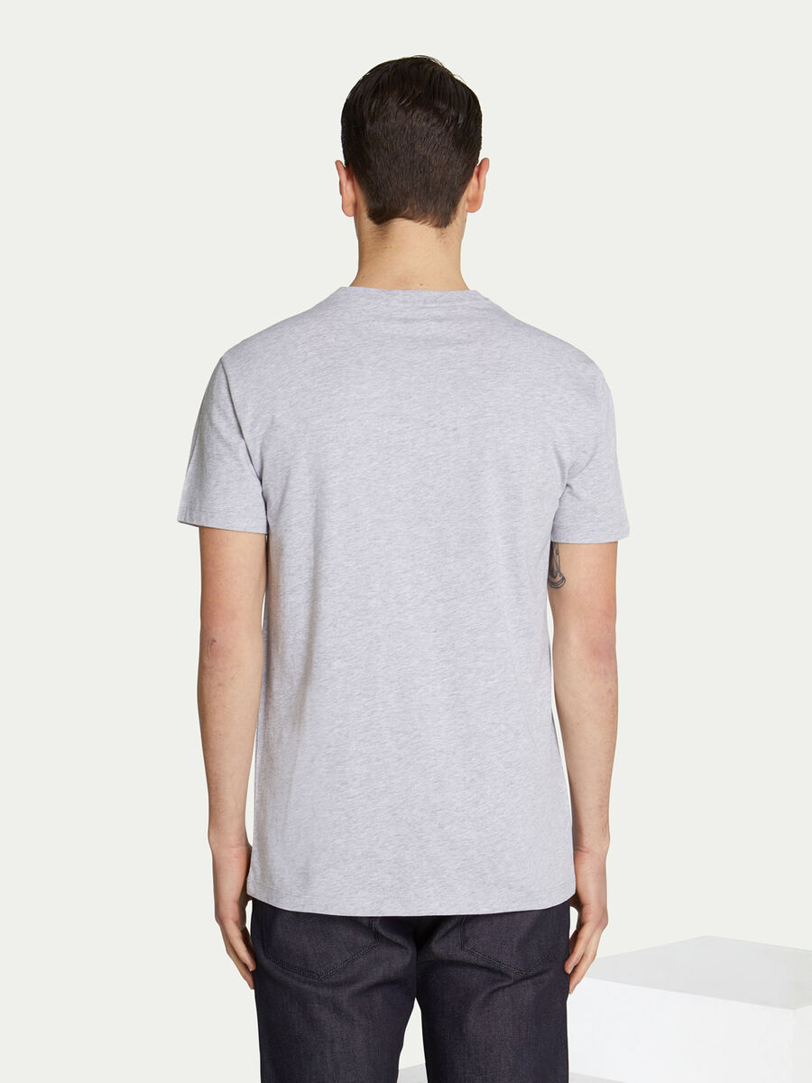 Regular fit jersey T shirt with lettering print