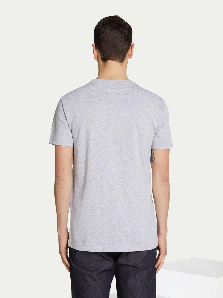 Regular Fit T Shirt aus Jersey mit Lettering Print