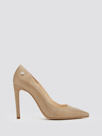 Reptile skin effect pumps