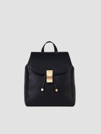 Medium faux leather Lione backpack