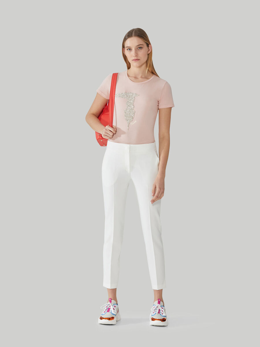 Technical fabric trousers