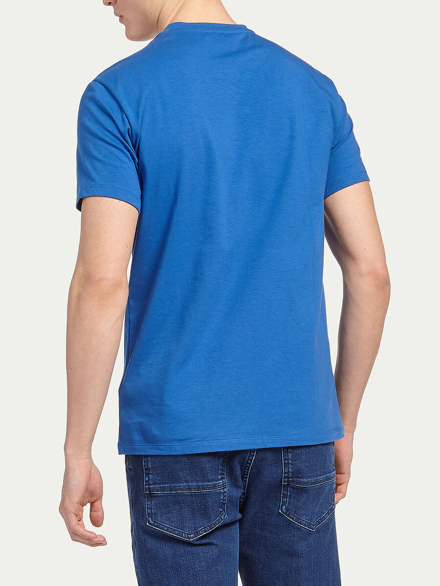 T Shirt aus Stretch Jersey mit Logo