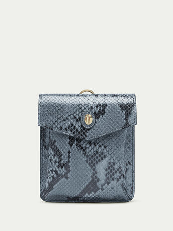 Python print Crespo leather briefcase