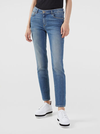 Jeans 206 Regular Fit aus elastischem Alis Denim