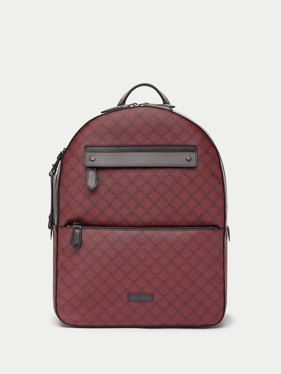 Medium Crespo leather Monogram backpack