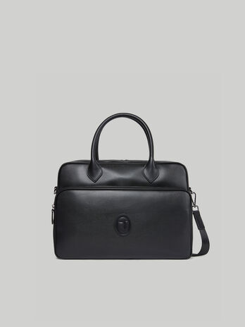 Briefcase Urban in similpelle saffiano