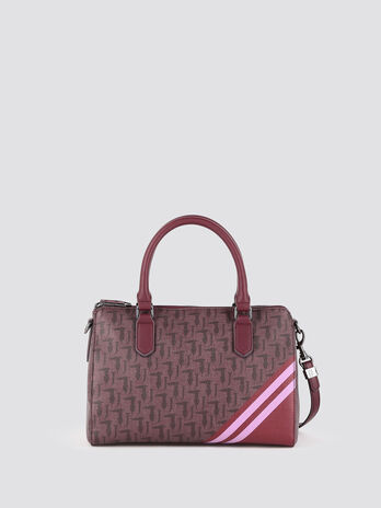Vaniglia satchel with logo print