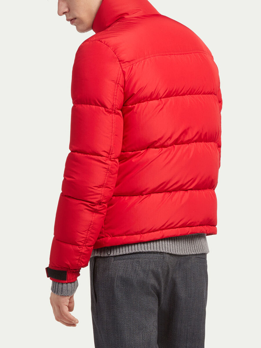 Regular fit unisex real duvet down jacket