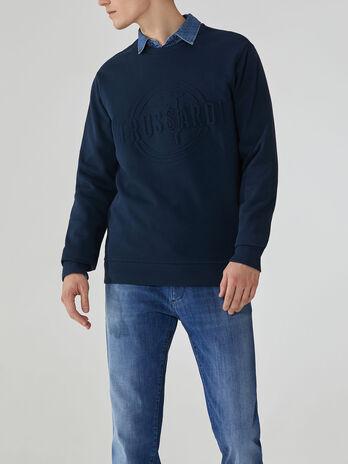 Sweatshirt im Regular-Fit aus Baumwolle